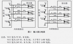 传统步进电机驱动器接线图