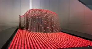 一体化步进电机在大型矩阵的应用