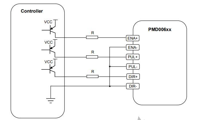 PMD006P2共阴极接线