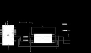 图3连接到H桥和Arduino的单极步进电机示意图