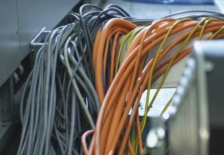 脉冲型控制组网步线