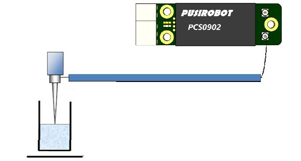 电容式液位探测模块接线图